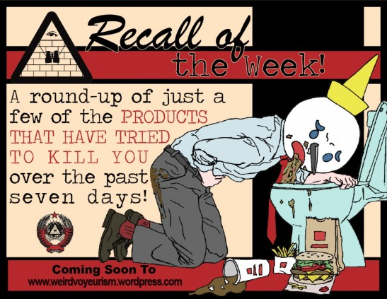 Recall of the Week house ad