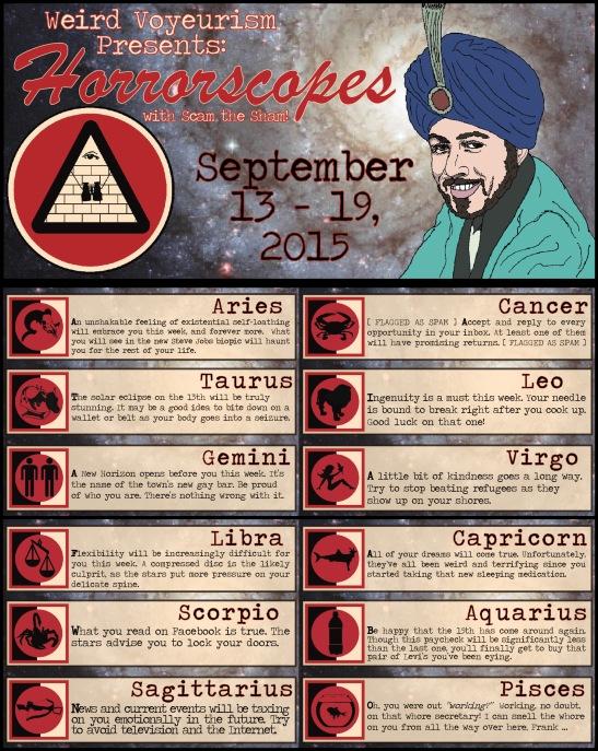 Sept. 13-19 Horrorscopes