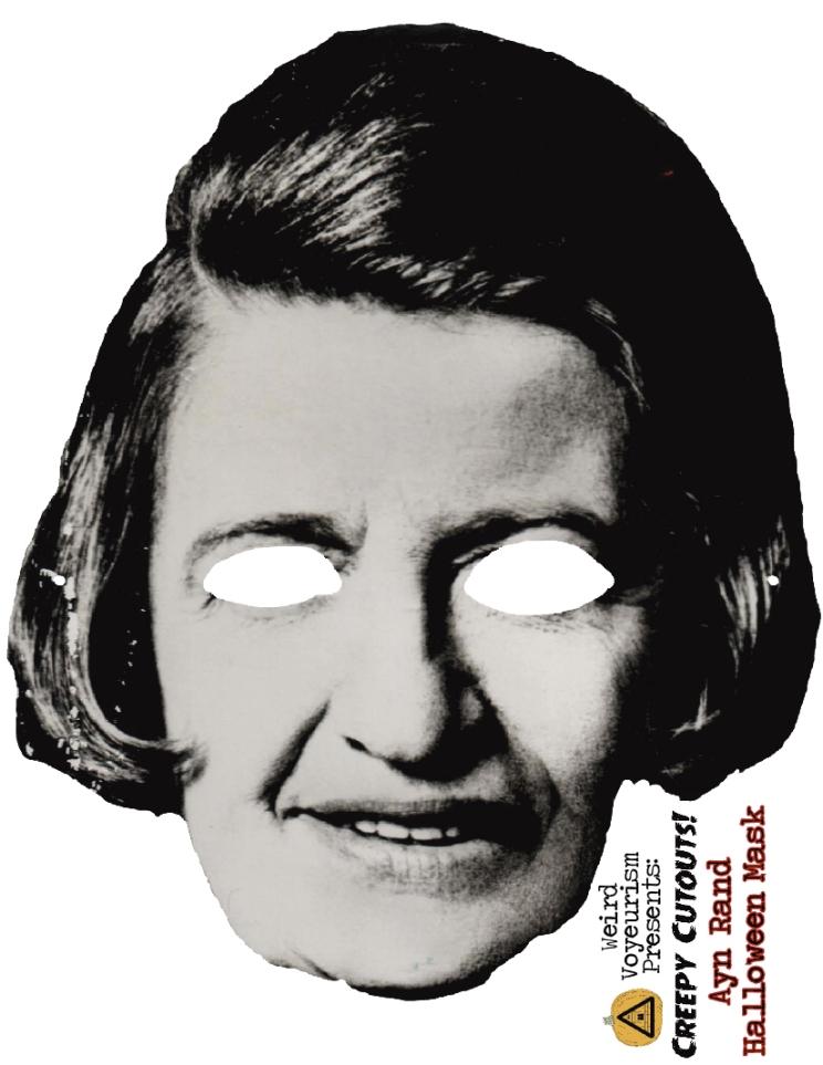 Ayn Rand mask
