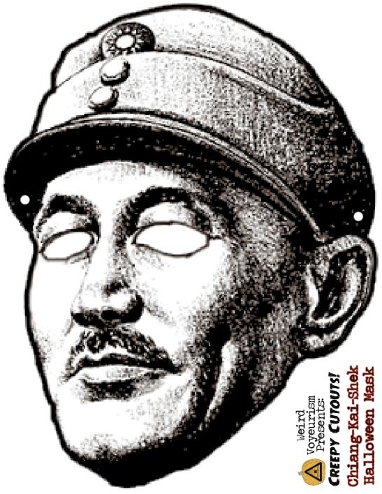Chiang-Kai-Shek mask