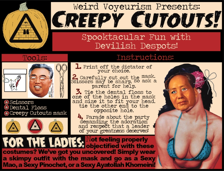 Creepy Cutouts instructions