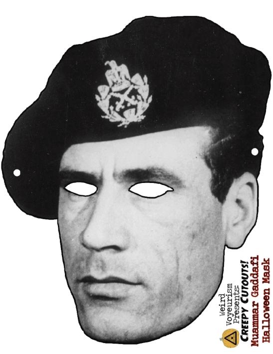 Gaddafi mask
