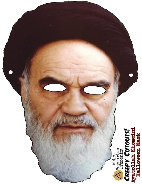 Khomeini mask