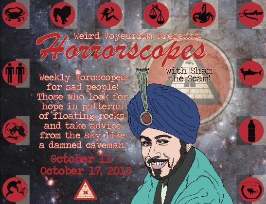 Oct. 11 Horrorscopes 1