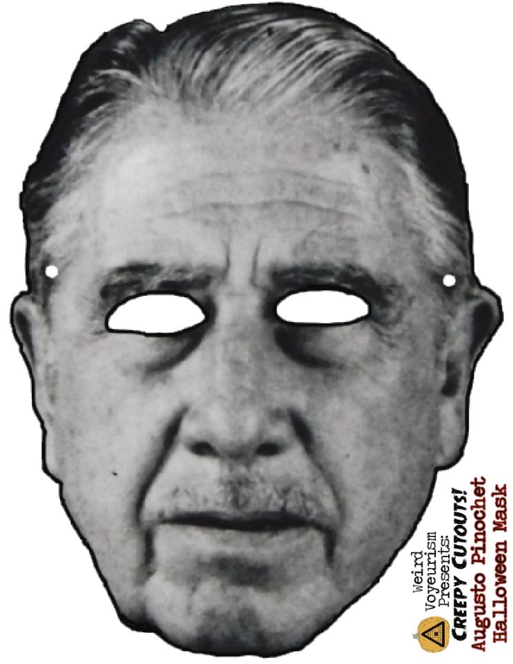 Pinochet mask
