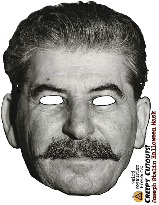 Stalin mask printout