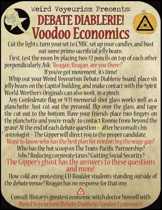 Voodoo Economic rules
