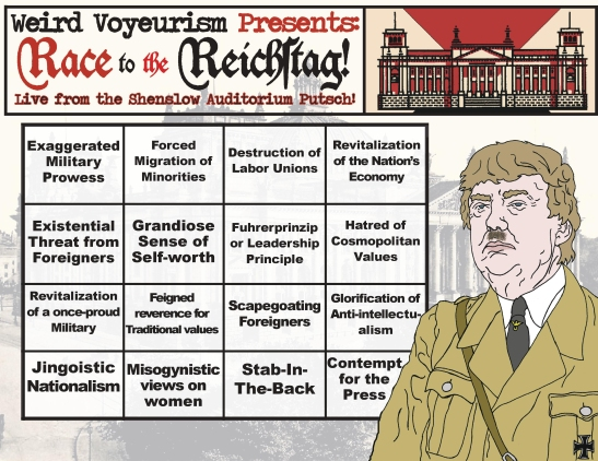Race to the Reichstag card