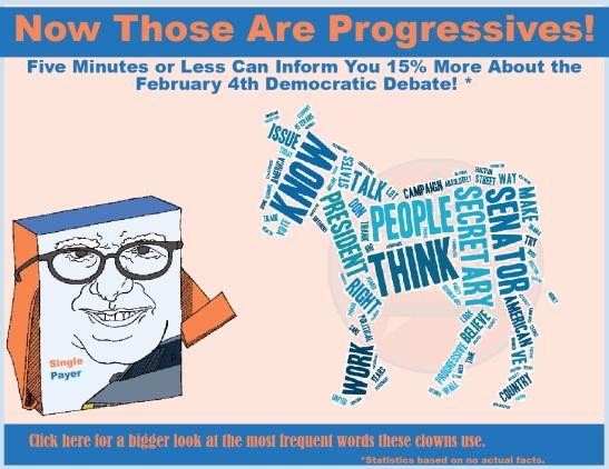 Progressives Bernie