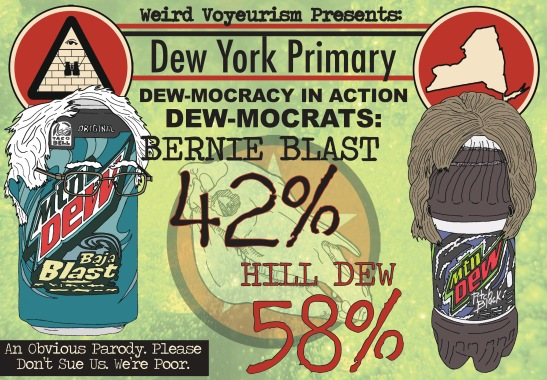 Dew-mocrats results