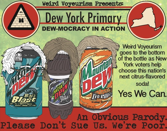 Dew York Primary house ad
